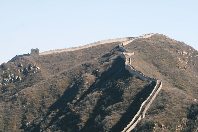 万里の長城ウォーキングと北京旅行