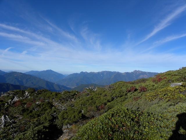 台湾五岳・南湖大山と礁渓